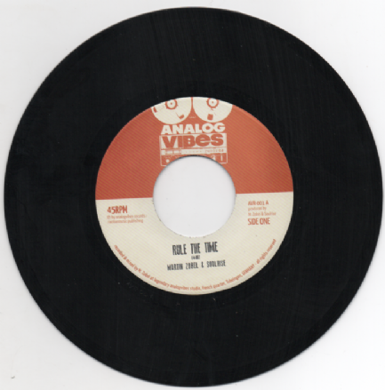 Martin Zobel & The SoulRise - Rule The Time / Rule The Riddim (Analog Vibes) 7""